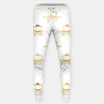 Thumbnail image of Golden Coaches Cinderella Princess Royal Magic Fairytale Sweatpants, Live Heroes