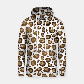 Thumbnail image of Leopard Spots Wild Animals Golden Glitter Girly Safari Hoodie, Live Heroes