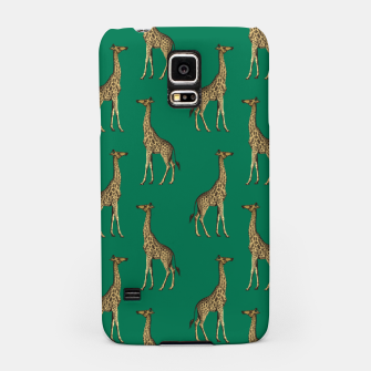 Miniature de image de Giraffe Mammalian Emerald Green Wild Animal Africa Samsung Case, Live Heroes