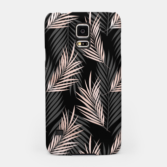 Thumbnail image of Elegant Rose Golden Palm Leaf Natural Tropical Caribbean Samsung Case, Live Heroes