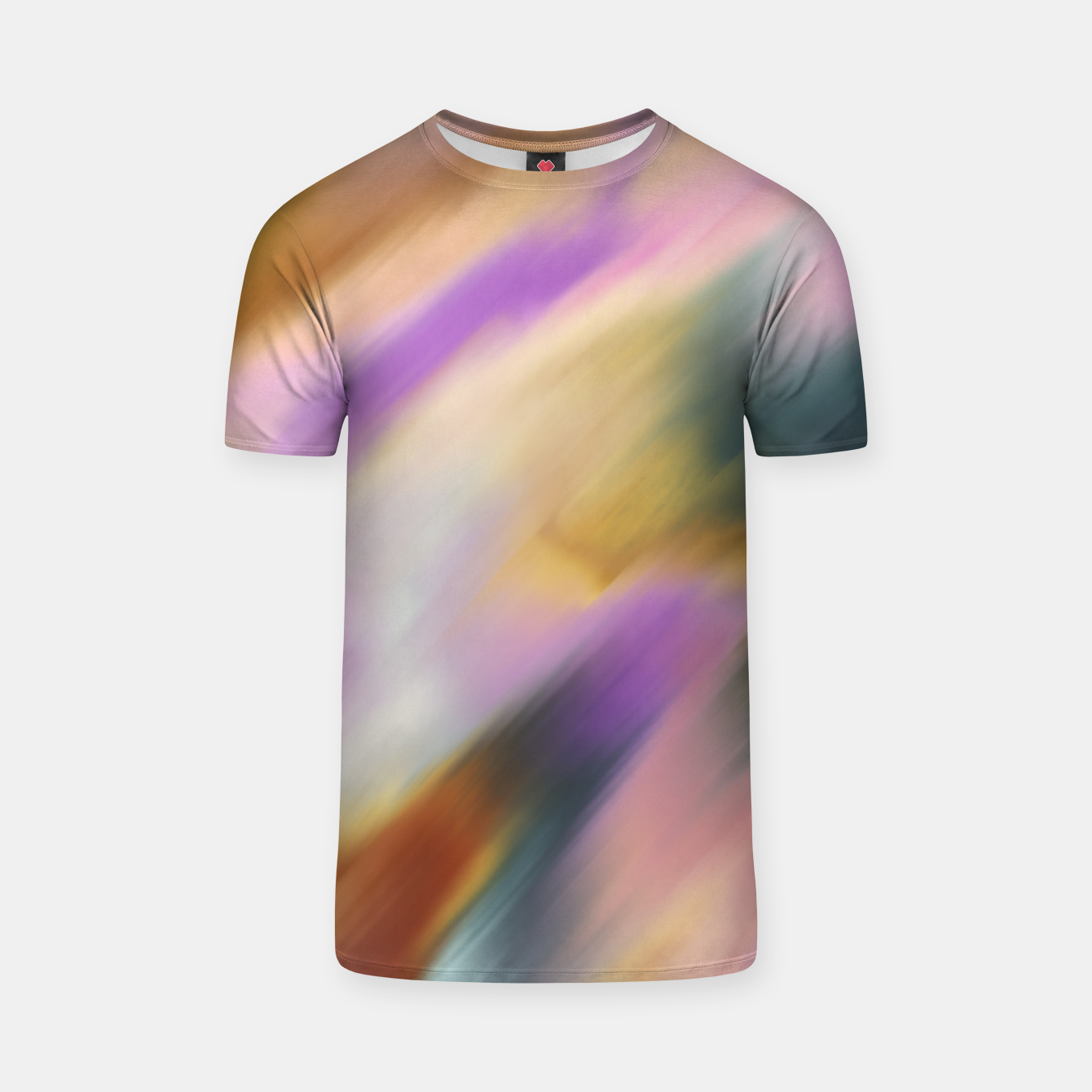 Image of Colorful blurred brushstrokes 1 Camiseta - Live Heroes