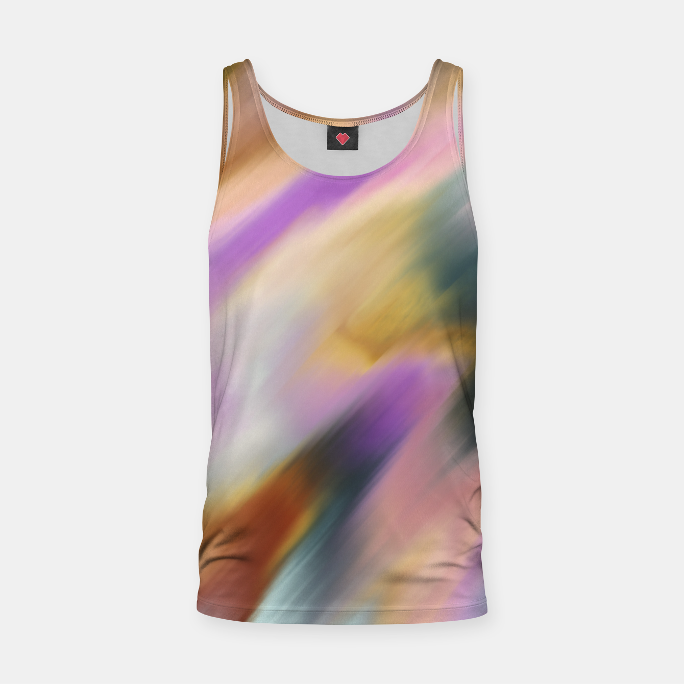 Image of Colorful blurred brushstrokes 1 Camiseta de tirantes - Live Heroes