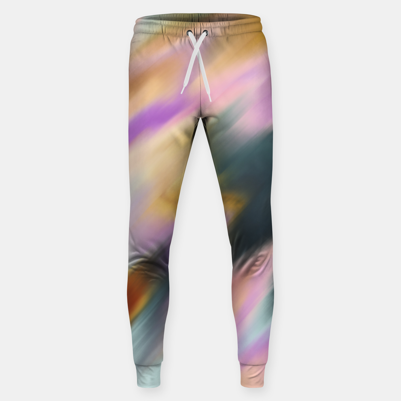 Image of Colorful blurred brushstrokes 1 Pantalones de chándal  - Live Heroes