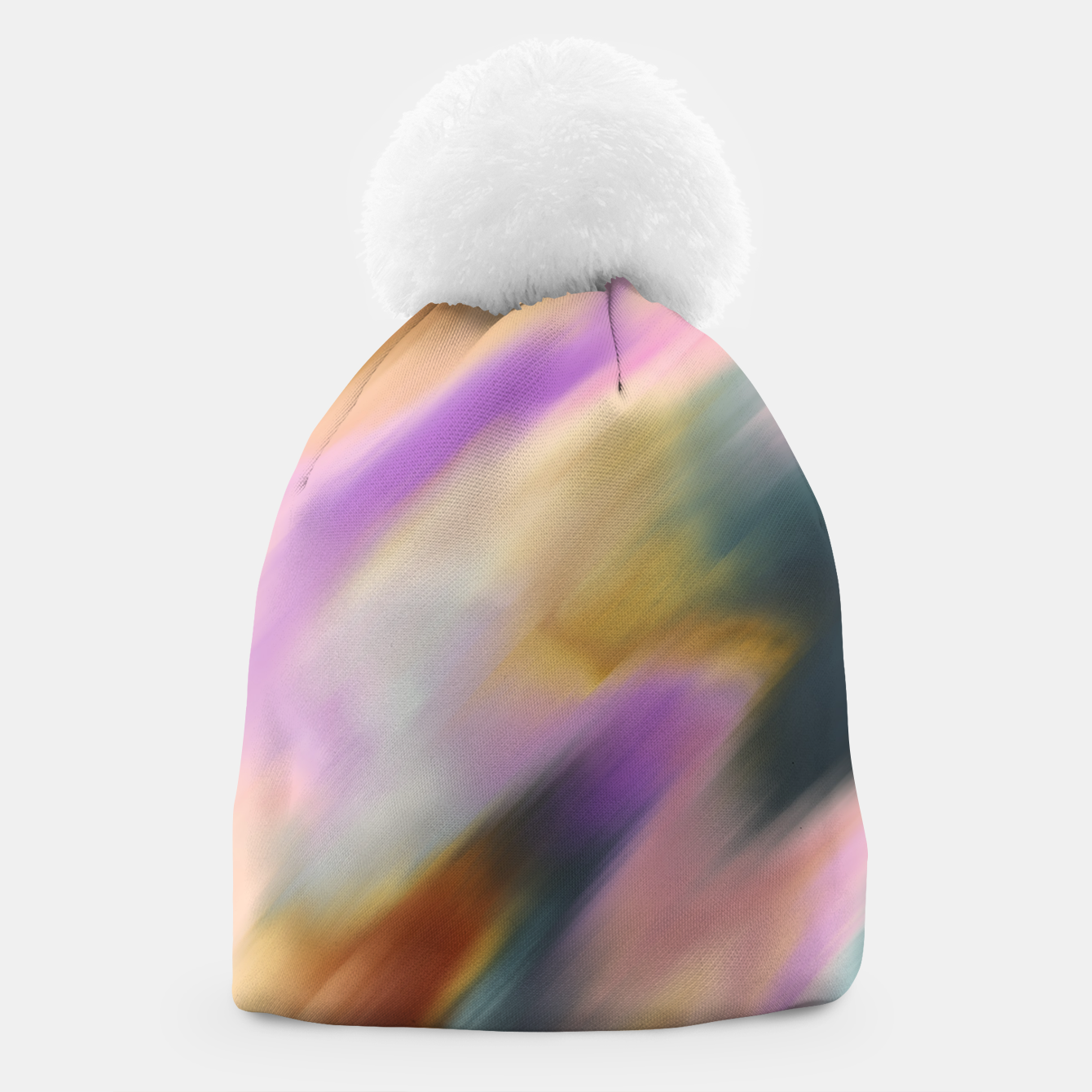 Image of Colorful blurred brushstrokes 1 Gorro - Live Heroes