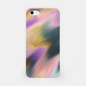 Colorful blurred brushstrokes 1 Carcasa por Iphone thumbnail image
