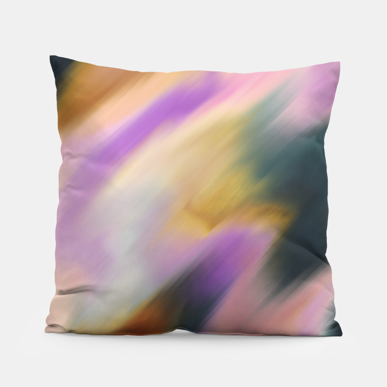 Image of Colorful blurred brushstrokes 1 Almohada - Live Heroes