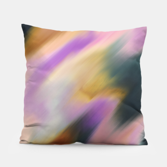Colorful blurred brushstrokes 1 Almohada thumbnail image