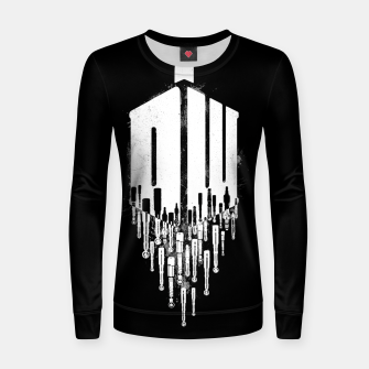 Thumbnail image of Time Traveler Women sweater, Live Heroes