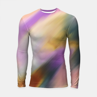 Colorful blurred brushstrokes 1 Longsleeve rashguard thumbnail image