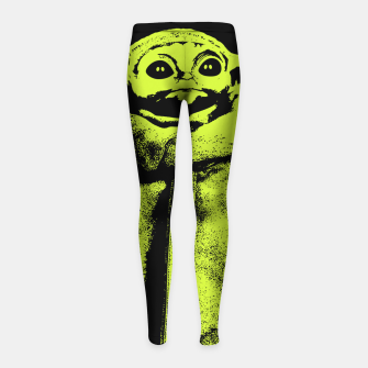 Feeling Groggy Girl's leggings thumbnail image