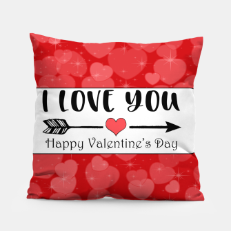 Miniaturka I Love You - Happy Valentine's day Coussin, Live Heroes