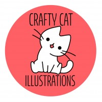 Crafty Cat Illustrations logo