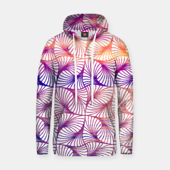 Miniatur Abstract illusion sunset pattern Sweat à capuche , Live Heroes