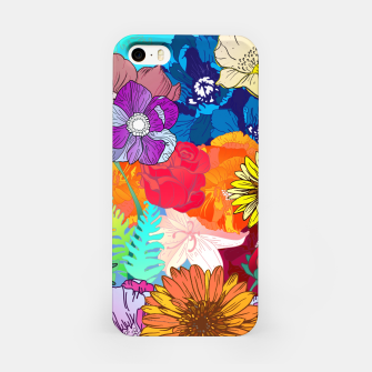 Thumbnail image of Flower Collage  iPhone Case, Live Heroes