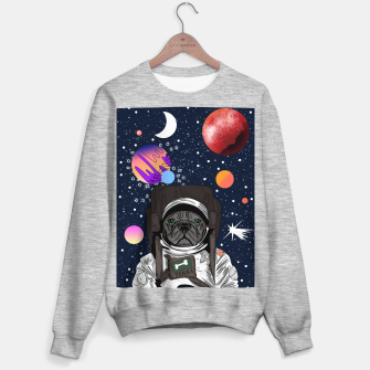 Thumbnail image of French Bulldog In Space Sweater regular, Live Heroes