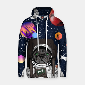 Thumbnail image of French Bulldog In Space Hoodie, Live Heroes