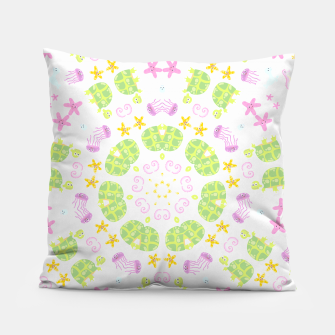 Thumbnail image of children aquatic pattern Coussin, Live Heroes
