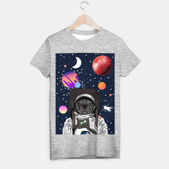 Thumbnail image of French Bulldog In Space T-shirt regular, Live Heroes