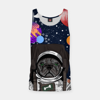 Thumbnail image of French Bulldog In Space Tank Top, Live Heroes