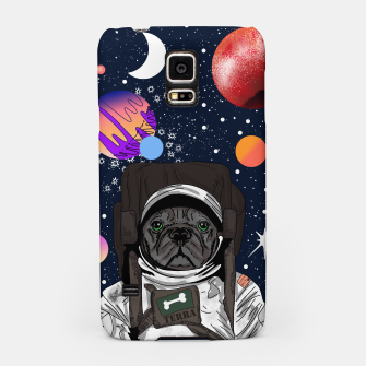 Thumbnail image of French Bulldog In Space Samsung Case, Live Heroes
