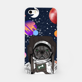 Thumbnail image of French Bulldog In Space iPhone Case, Live Heroes