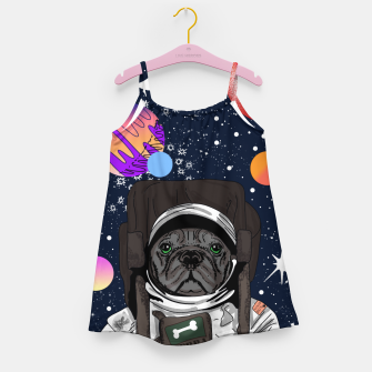 Thumbnail image of French Bulldog In Space Girl's dress, Live Heroes