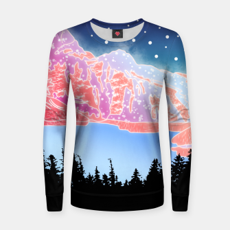 Thumbnail image of Arctic Mountains Women sweater, Live Heroes