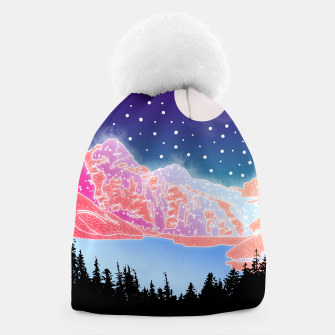 Thumbnail image of Arctic Mountains Beanie, Live Heroes