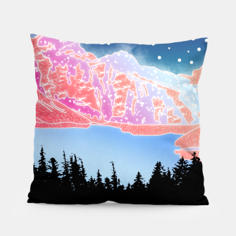 Thumbnail image of Arctic Mountains Pillow, Live Heroes