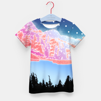 Thumbnail image of Arctic Mountains Kid's t-shirt, Live Heroes