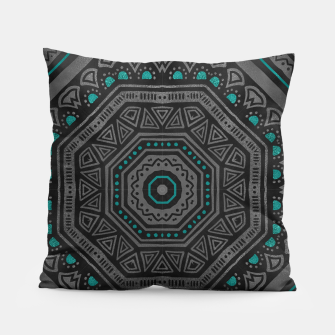 Thumbnail image of abstract octogone Coussin, Live Heroes