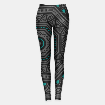 Thumbnail image of abstract octogone Leggings, Live Heroes
