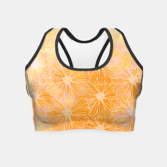 Thumbnail image of spring flower Crop Top, Live Heroes