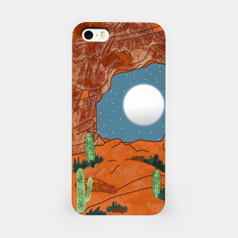 Thumbnail image of Desert cliffs iPhone Case, Live Heroes