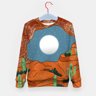 Thumbnail image of Desert cliffs Kid's sweater, Live Heroes