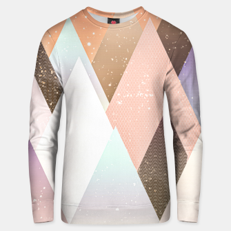 Miniatur Colourful mountains Unisex sweater, Live Heroes