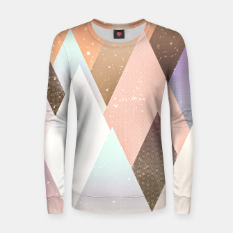 Thumbnail image of Colourful mountains Women sweater, Live Heroes