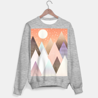 Miniatur Colourful mountains Sweater regular, Live Heroes