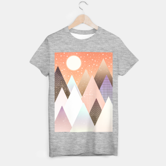 Thumbnail image of Colourful mountains T-shirt regular, Live Heroes