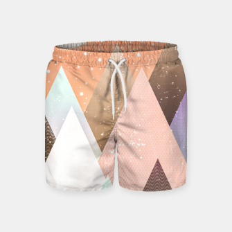 Thumbnail image of Colourful mountains Swim Shorts, Live Heroes