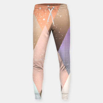 Thumbnail image of Colourful mountains Sweatpants, Live Heroes