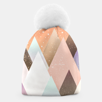 Thumbnail image of Colourful mountains Beanie, Live Heroes