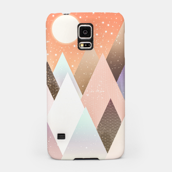 Miniatur Colourful mountains Samsung Case, Live Heroes