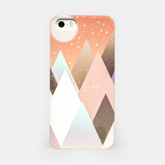 Miniatur Colourful mountains iPhone Case, Live Heroes