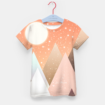 Thumbnail image of Colourful mountains Kid's t-shirt, Live Heroes