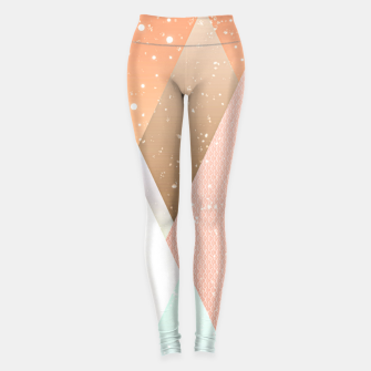 Thumbnail image of Colourful mountains Leggings, Live Heroes