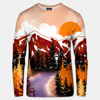 Thumbnail image of Smokey mountains Unisex sweater, Live Heroes