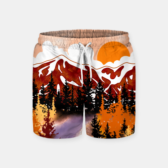 Thumbnail image of Smokey mountains Swim Shorts, Live Heroes