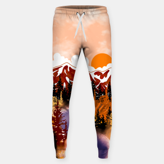 Thumbnail image of Smokey mountains Sweatpants, Live Heroes