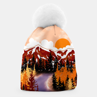 Thumbnail image of Smokey mountains Beanie, Live Heroes